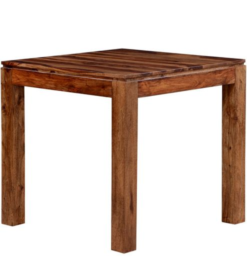 Buy Rio Square Four Seater Dining Table in Provincial Teak Finish by Woodsworth by Woodsworth online from Pepperfry. ✓Exclusive Offers ✓Free Shipping ✓EMI Available