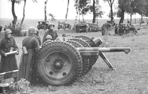 75mm artillery.