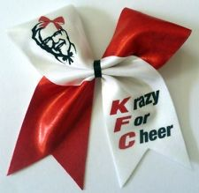 DIY cheer bow,