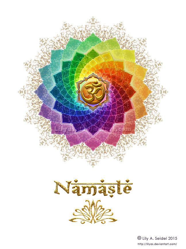 Lotus Om Namaste T-Shirt by Lilyas on DeviantArt