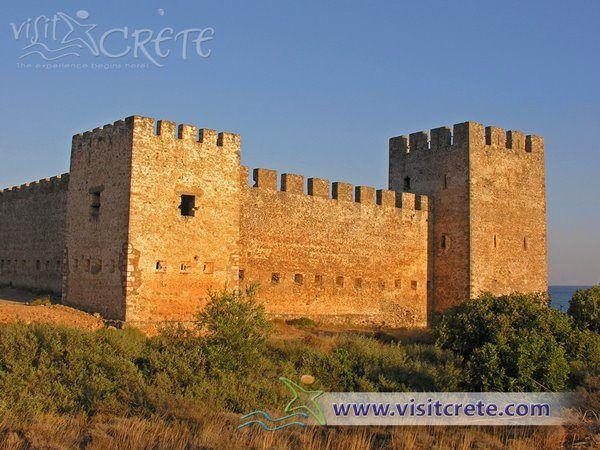 Crete, Chania, Frangokastelo