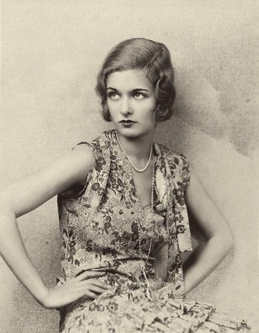 Joan Bennett, 1928 on Flickr..   Image by © Condé Nast Archive/CORBIS.