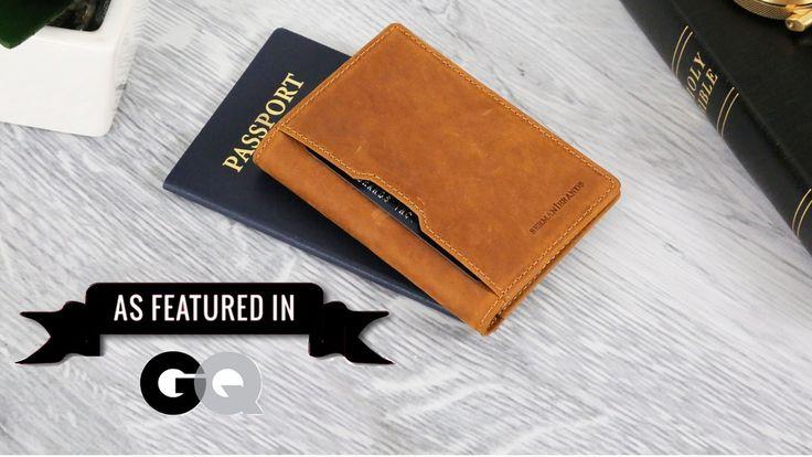 Slimmest RFID Blocking Front Pocket Minimalist Travel Wallet project video thumbnail