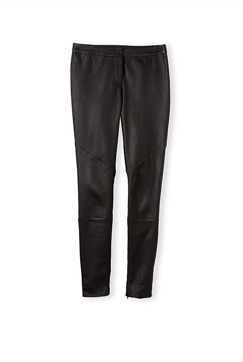 Stretch Leather Pant. So these cost more but would look amazing.