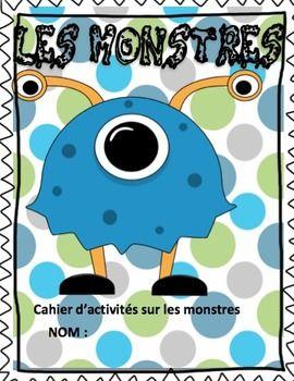 Cahier sur les monstres