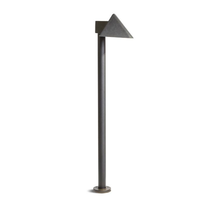 AERIE FLOOR | rendl light studio | Outdoor bollard suitable for illuminating walkways or other paths. The light is equipped with high-powered CREE LED light sources. #light #garden #outdoor #bollard #LED