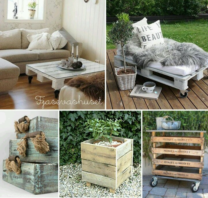 Pallet ideas  CrAfTy IdEaS  Pinterest