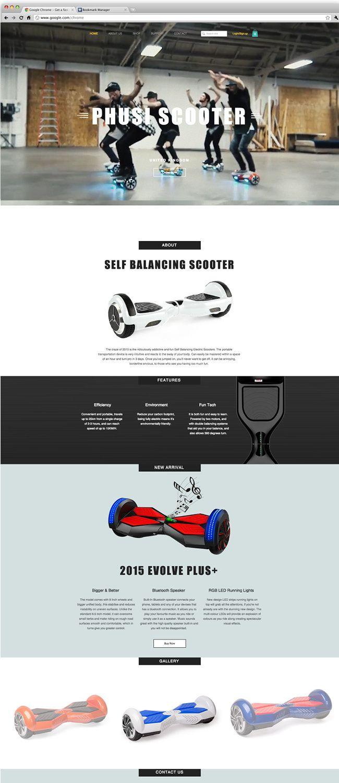 Phusi   Self Balancing Scooter