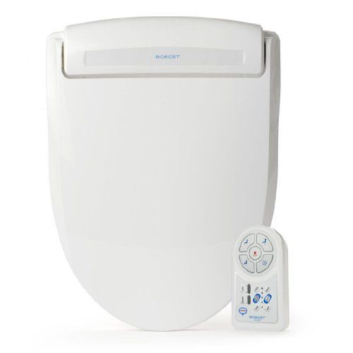 Bio Bidet Harmony BB-400 Advanced Bidet Toilet Seat, Elongated White *** To view further for this item, visit the image link.
