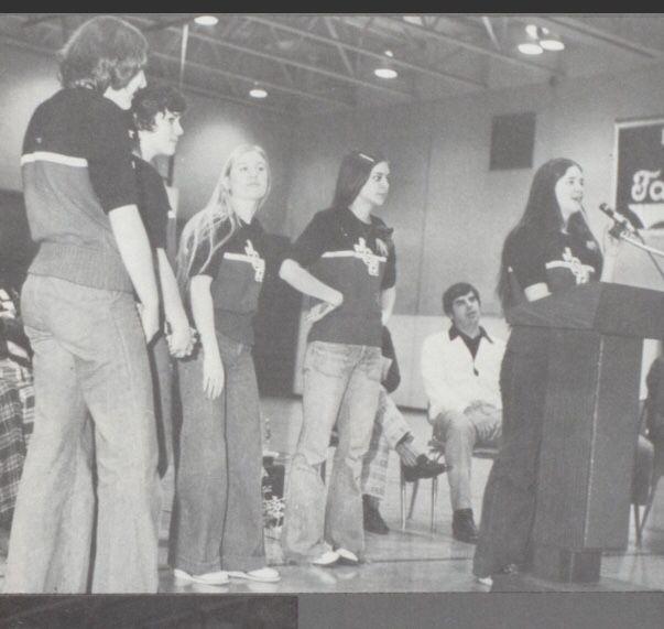 1974-1975 Varsity  John Glenn High School, Walkerton, Indiana