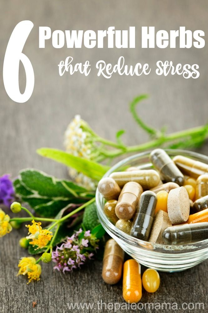Learn how to heal your body naturally with these 6 powerful herbs that reduce stress.