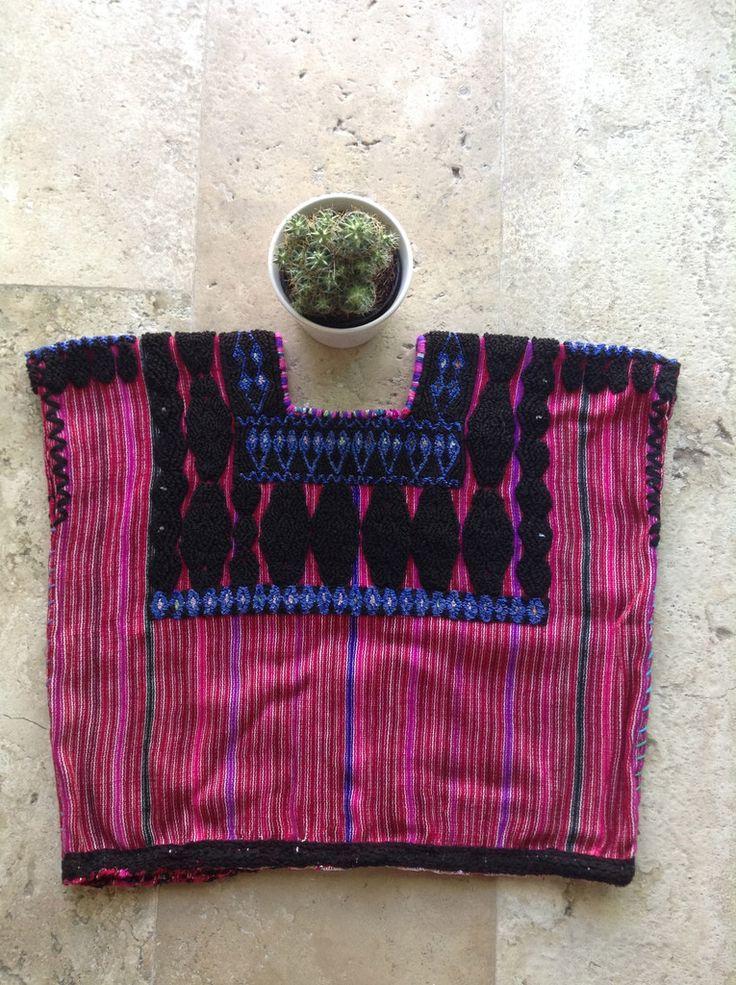 Traditional Vintage Huipil | Chiapas Bazaar| Fairtrade Mexican Artisanal Collection