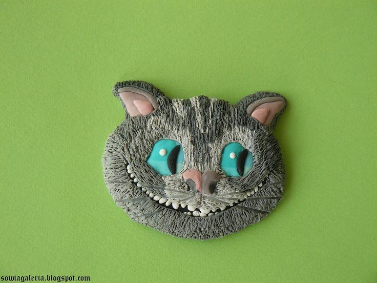 sowia galeria: Kot z Cheshire