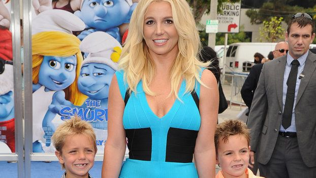 Britney Spears's Sons Are Legitimate Pre-Teens Now