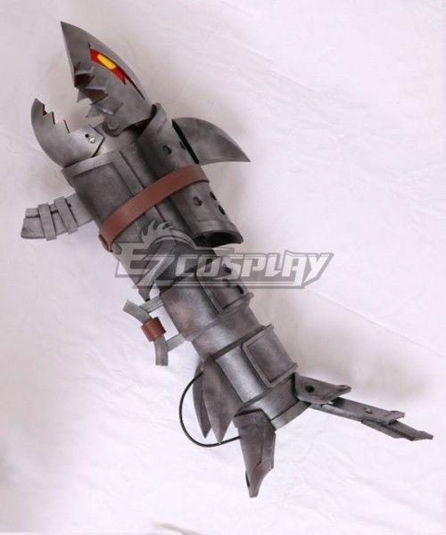 League of Legends LOL Jinx Fishbone Rocket Launcher Weapon