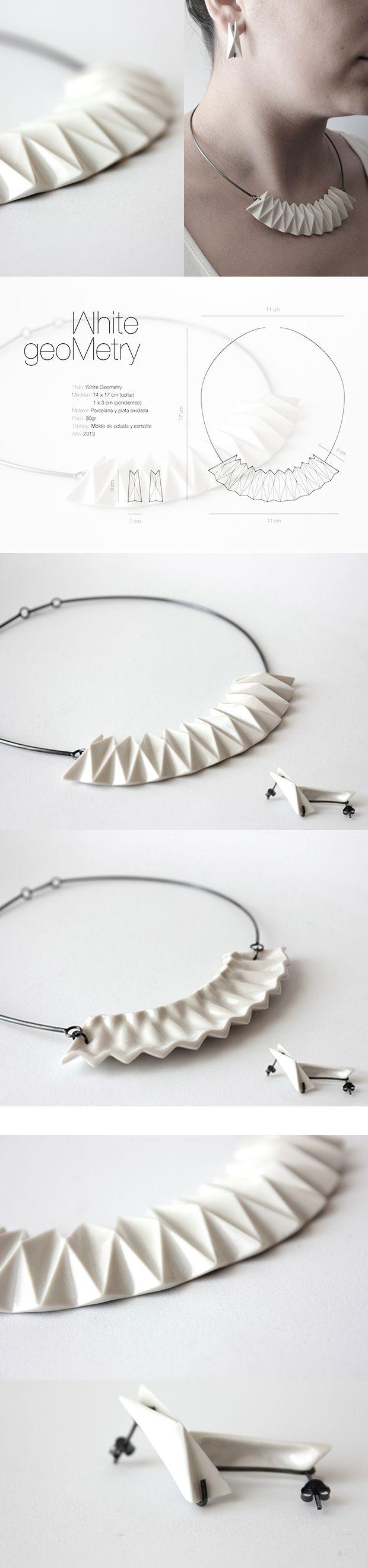 White Geometry By Minji Jung - MJ