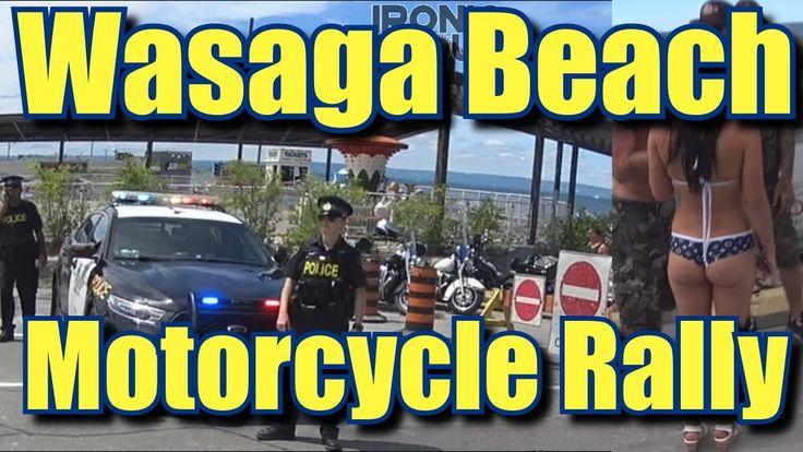 Wasaga Beach Motorcycle Rally 2016