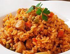 Risoto de Arroz Integral com Frango e Legumes #risoto #risotto #arroz #frango #chicken
