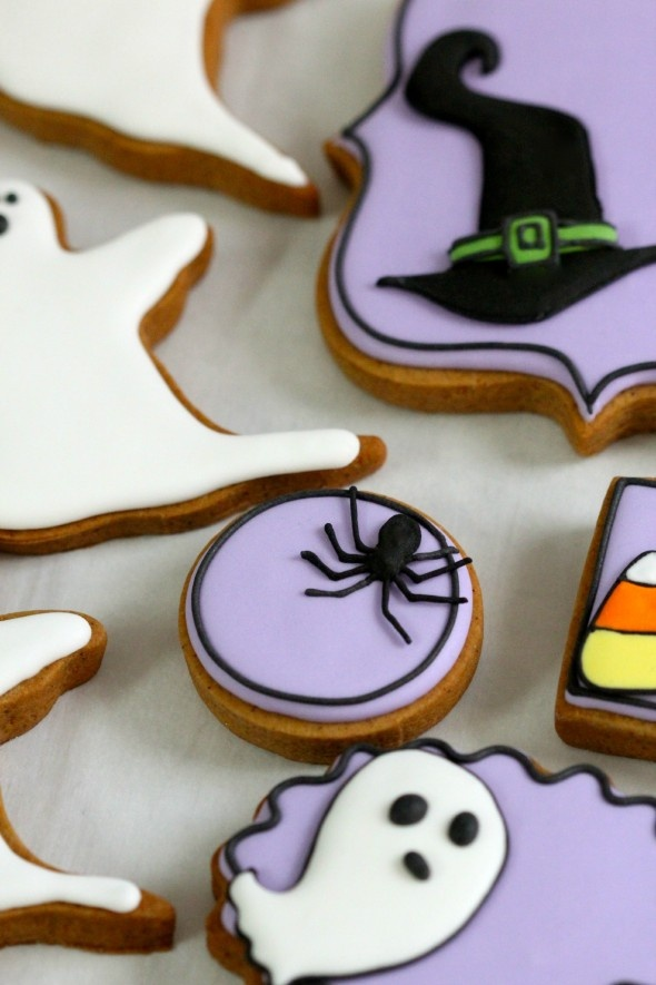 218 best cookies halloween images on pinterest halloween foods halloween cookies and halloween recipe - Halloween Gingerbread Cookies