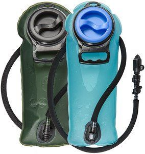 WINTER SALE 2 Liter Hydration Bladder for Adventurers, #1 Tough Water Reservoir Pack in 2L Blue or Military Green, Best in Backpack for Hiking, Running,Cycling and Hunting. Insulated Hose, No Leaks. NEVER WORRY ABOUT THIRST OR DEHYDRATION AGAIN. Whether you're hiking, biking, boarding or climbing you NEVER have to fear running out of water again. The 70oz Hydrator is a non-toxic, completely leak proof 2 Liter Water Hydration Reservoir. Complete with a huge opening to add water and ice…