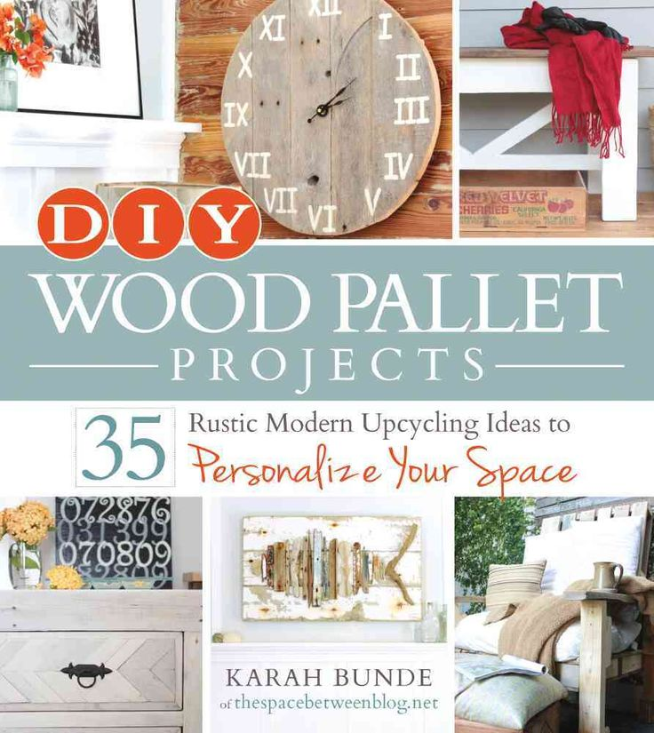 DIY Wood Pallet Projects: 35 Rustic Modern Upcycling Ideas to Personalize Your…