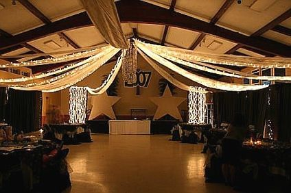 """How to Make a Cheap and Easy """"Tent Ceiling"""" for an Event thumbnail https://www.whenworx.com"""