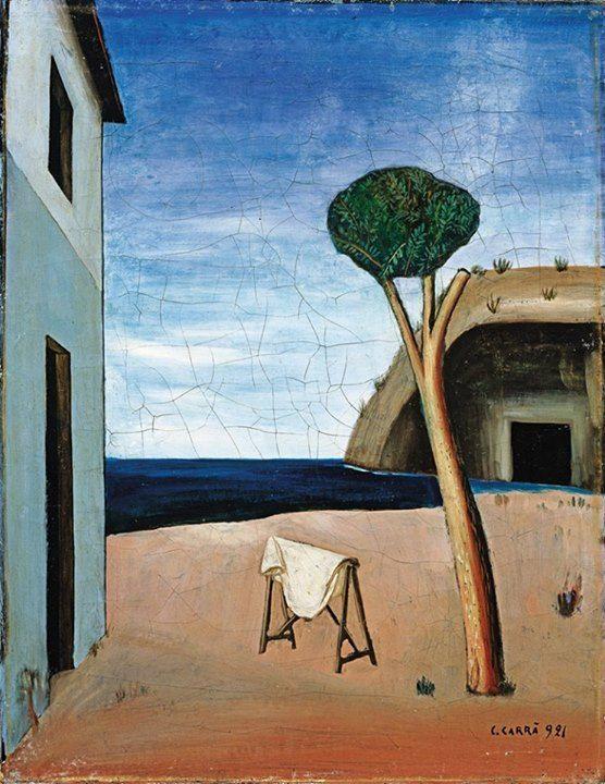 Carlo Carra (1881-1966) Pino sul mare, 1921