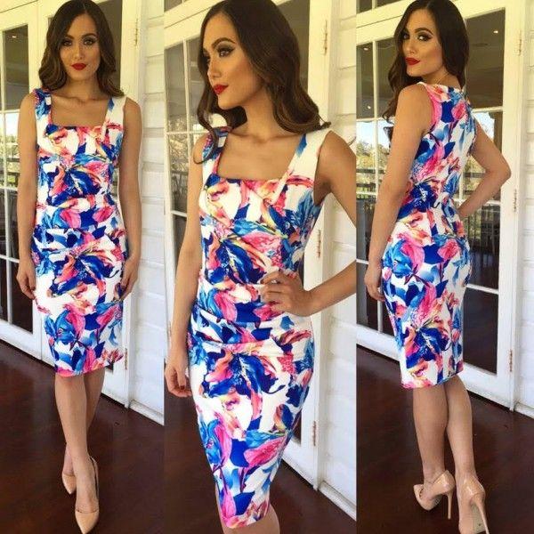 Xosi Contour Party Dress