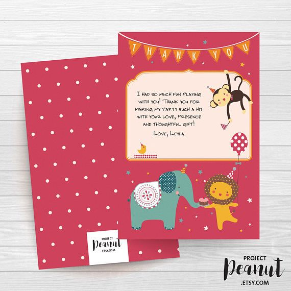 16 best Party DIY Kits   Thank You Cards images on Pinterest Diy - best of invitation card for new zoo