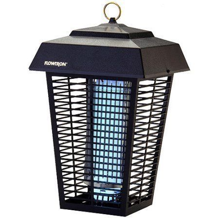 Electric Insect Killer Zapper Outdoors Bug Pest Mosquito 1.5 Acre Coverage New     eBay