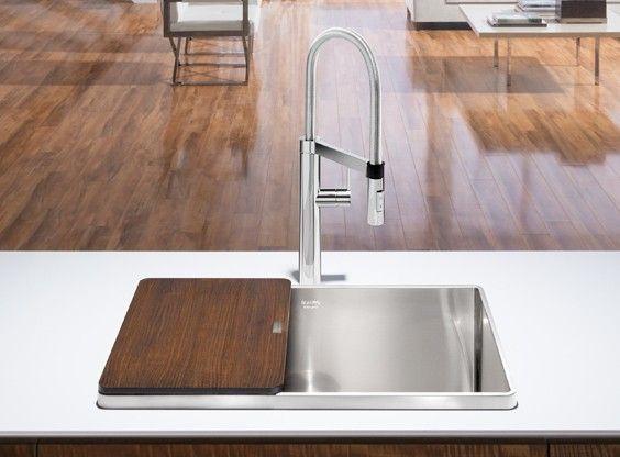 blanco attika stainless single kitchen sink vier de cuisine acier inox simple call - Blanco Kitchen Sinks
