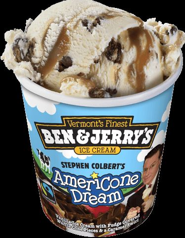 Are these unconventional Ice Cream flavors a hit or miss? We love Stephen Colbert, so maybe we'll love Americone Dream as well. #IceCream #Summer #Dessert #Treats #dfgiveaway