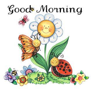Good morning. .friends. .