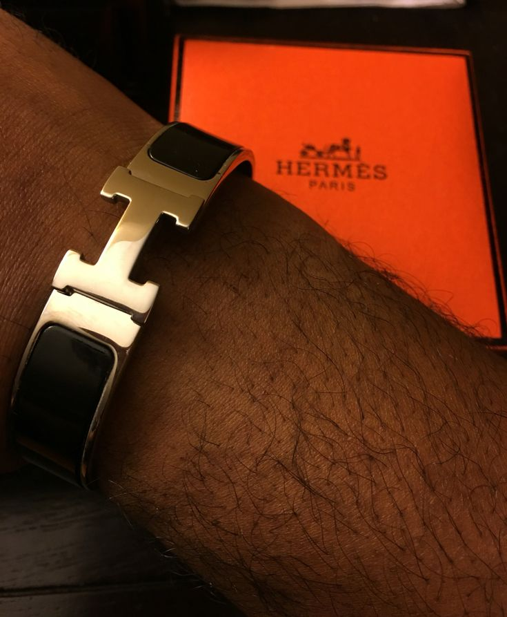 Hermes Mens Wide Bracelet