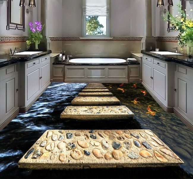 Living Room And Kitchen Stage By Synergy Staging: 59 Best 3D Floor Decals Wall Murals Images On Pinterest