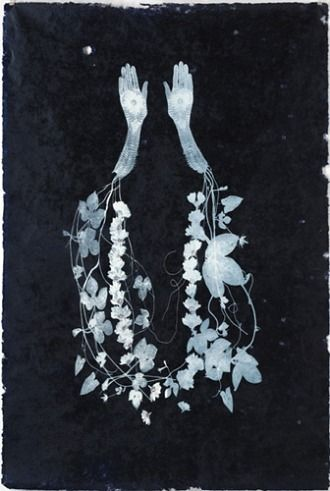 Valerie Hammond, Garland (2010)  Photogram