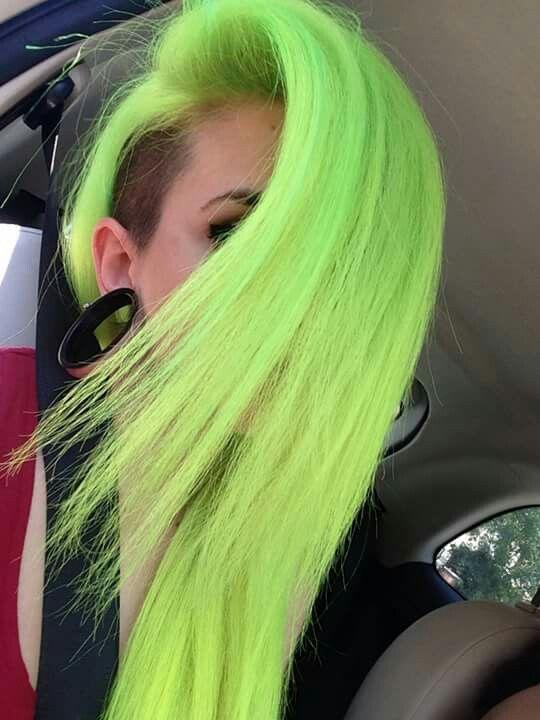 neon green ideas
