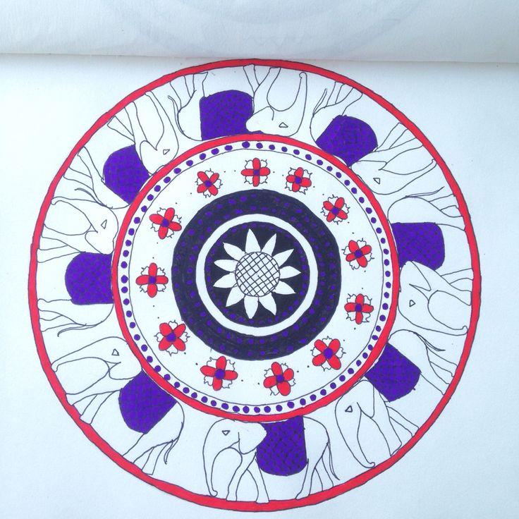 Mandala art.  Diana Lupi