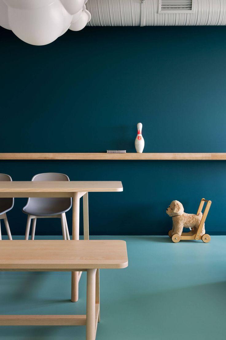 Blau und Grün kombiniert | Wohnungseinrichtung in Blau | Einrichten mit Blautönen | Interior Blue