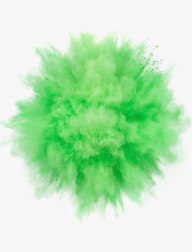 Green Spray Powder Png And Clipart Cvetnoj Poroshok Cvetochnye Illyustracii Zelenye Fony