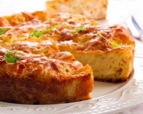 Quiche sans pâte Croq'Kilos au poulet et chou-fleur : http://www.fourchette-et-bikini.fr/recettes/recettes-minceur/quiche-sans-pate-croqkilos-au-poulet-et-chou-fleur.html