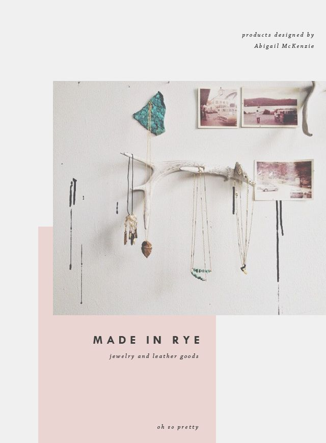 Made in Rye | Oh So Pretty