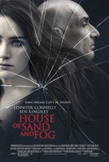 House of Sand and Fog. Ben Kingsley is fantastic as Massoud Behrani. It saddens you to see with each scene how slowly things are getting out of hand. Grim story so make sure you are in the mood for it. #moviereview