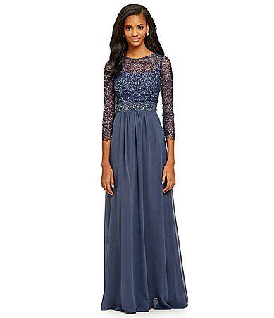 Mother of the Bride: Decode 1.8 Beaded Gown   Dillards.com