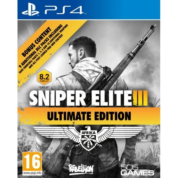 Sniper Elite III Ultimate Edition PS4 Game | http://gamesactions.com shares #new #latest #videogames #games for #pc #psp #ps3 #wii #xbox #nintendo #3ds