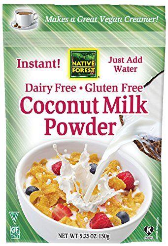Native Forest Coconut Milk Powder, 5.25 Ounce (Pack of 6) Native Forest http://www.amazon.com/dp/B00QIVB19Y/ref=cm_sw_r_pi_dp_TjwPwb1BMY2XP