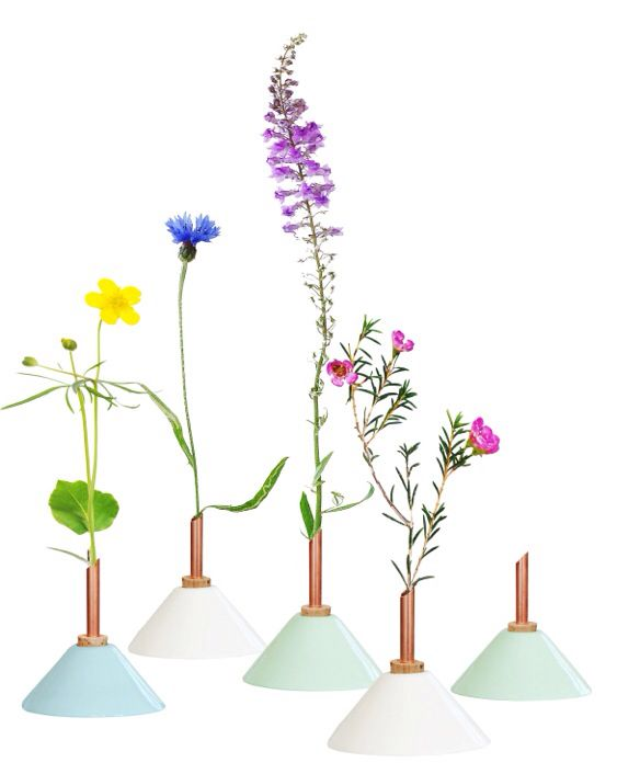 Beautiful designed vases from Scandinaviaform. In Holland only available trough Mette & Pernille