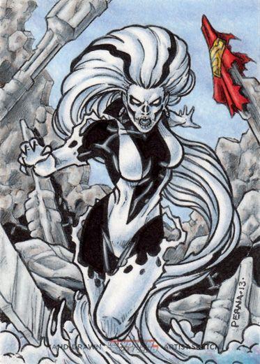 DC: Women of Legend - Silver Banshee by tonyperna on DeviantArt