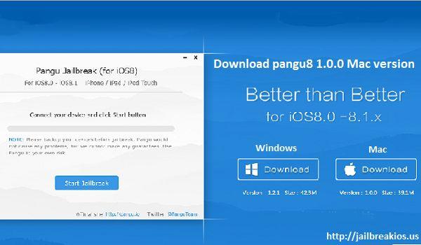 Pangu8 Mac version released pangu8 1.0.0 Mac - Download Any Jailbreak ToolDownload Any Jailbreak Tool