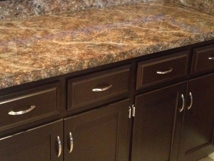 Just used Giani Granite Countertop paint kit! Love this simple ...